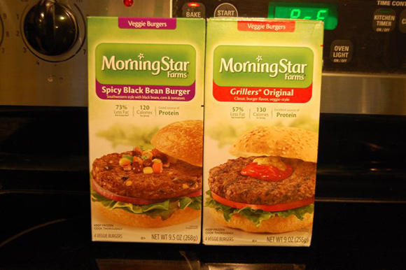 MORNINGSTAR FARMS, Spicy Black Bean Burger